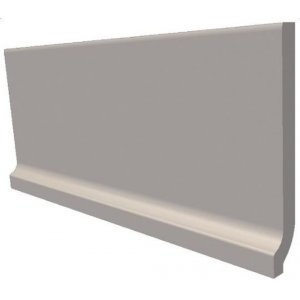 RAKO Taurus Color 20x9 cm 06 S Light Grey matný TSPEM006 sokel so žliabkom