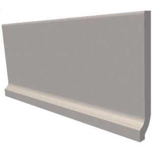 RAKO Taurus Color 30x8 cm 07 S Dark Grey matný TSPJB007 sokel so žliabkom
