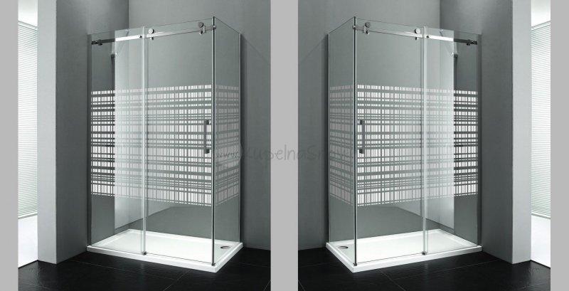 0e54a364014ec Sapho DRAGON Obdĺžniková sprchová zástena | Kúpeľňa snov