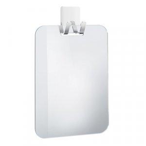 842c605eb73c7 Smedbo Outline line FK620 Plastové zrkadlo so samolepiacim háčikom 150 x  220 mm, pochrómovaná nerezová ocel